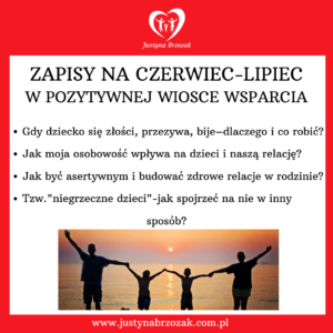Justyna Brzozak Pozytywna Wioska Wsparcia