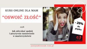Oswoic-zlosc-kurs-online