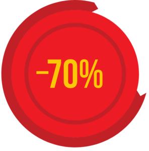 promocja -70%