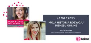 podcast u Italiany - Moja historia rozwoju biznesu