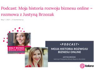 podcast moja droga rozwoju biznesu online